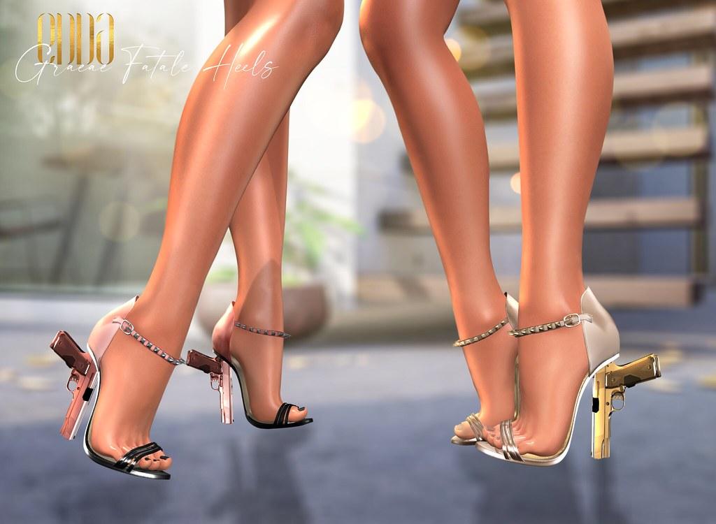 New Release@Graeae Fatale Heels