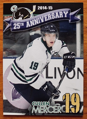 Cullen Whalers card front