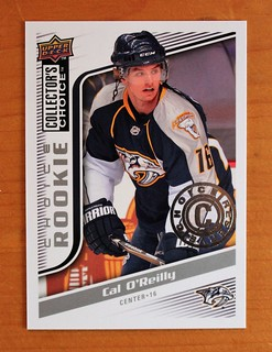 Cal NHL rookie card front