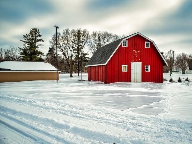 Barn On Ice