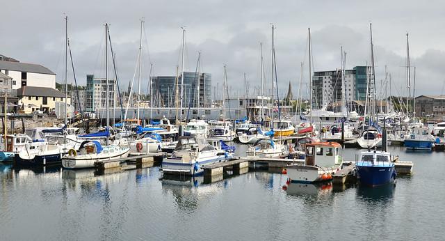 Sutton Harbour, Plymouth, Devon