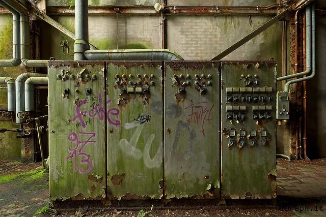 Kraftwerk Cyclonkessel