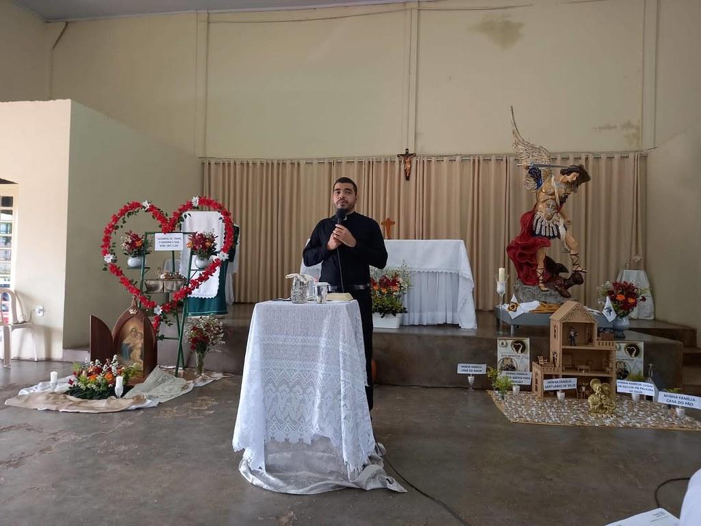 Abertura das atividades da Campanha da Mãe Peregrina na Paróquia São Miguel Arcanjo 2021