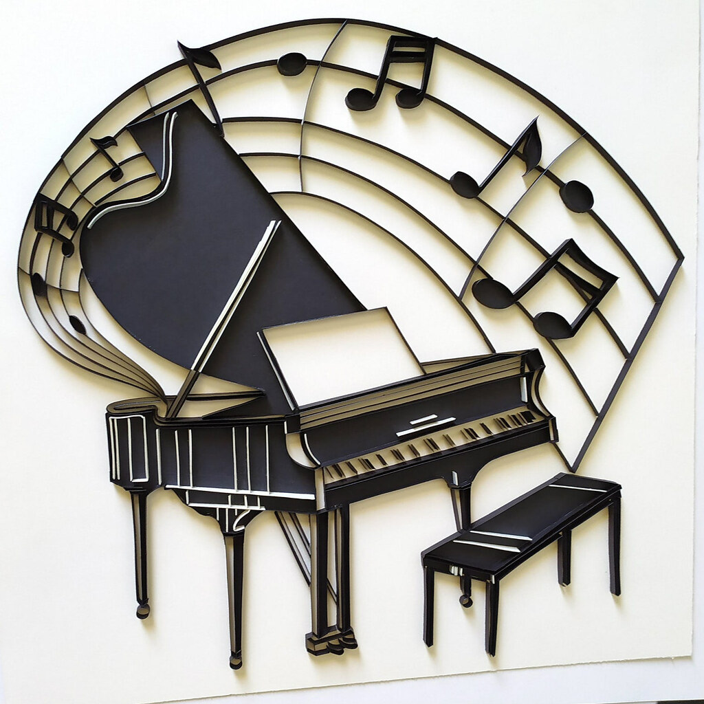 Quilled Piano