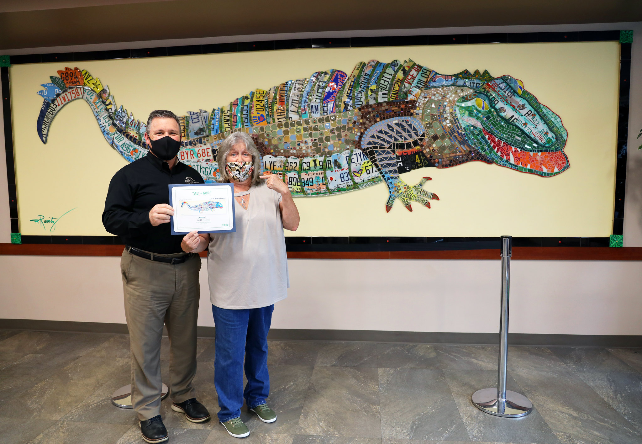 Alligator Art Naming Contest Winner