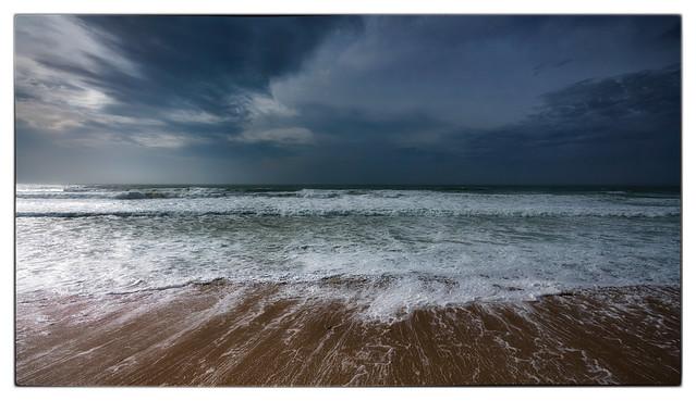 Océan après la tempête
