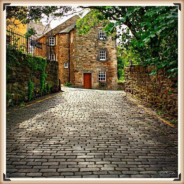 Miller Row, Dean Village, Edinburgh.