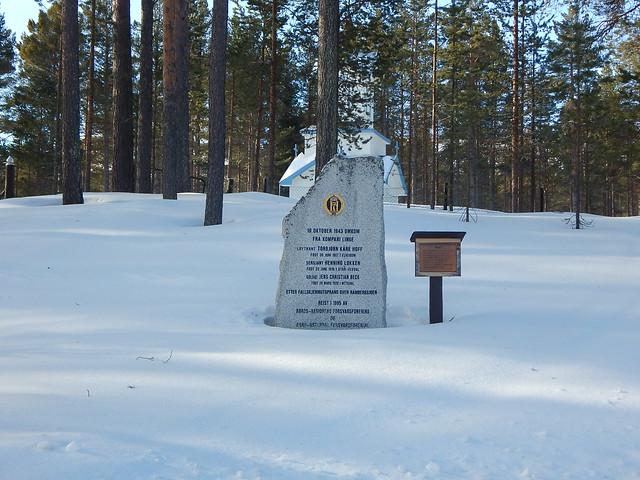 Hådalen kirkegård – Minnesmerke