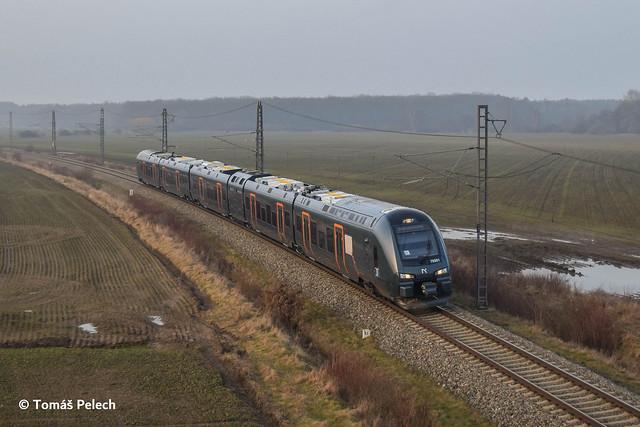 Stadler class 76 Flirt for Norske Tog VUZ Velim 23.2.2021
