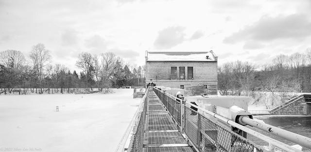 Barton Dam and Building