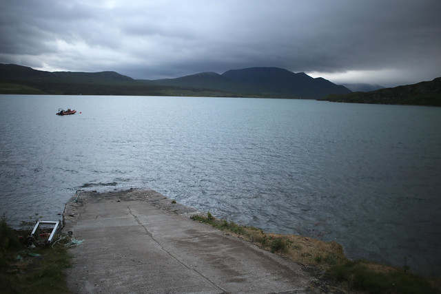 Cape Wrath ferry slipway, Keoldale