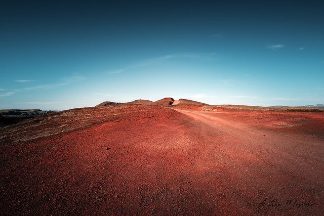 Mars in Iceland - Hólsfjallavegur Side Road (Iceland)