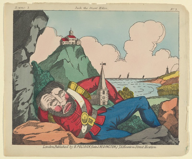 Benjamin Pollock - Scene 3, from Jack and the Giant Killer, Scenes for a Toy Theater, 1870–90