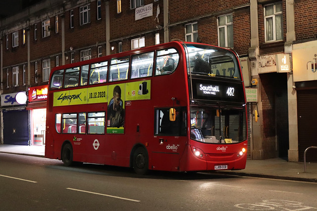 Rare Working: Route 482, Abellio London, 9441, LJ09CCD