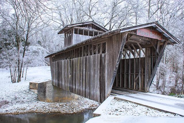 Papa's Bridge - J&S Farm - Cookeville, Tennessee
