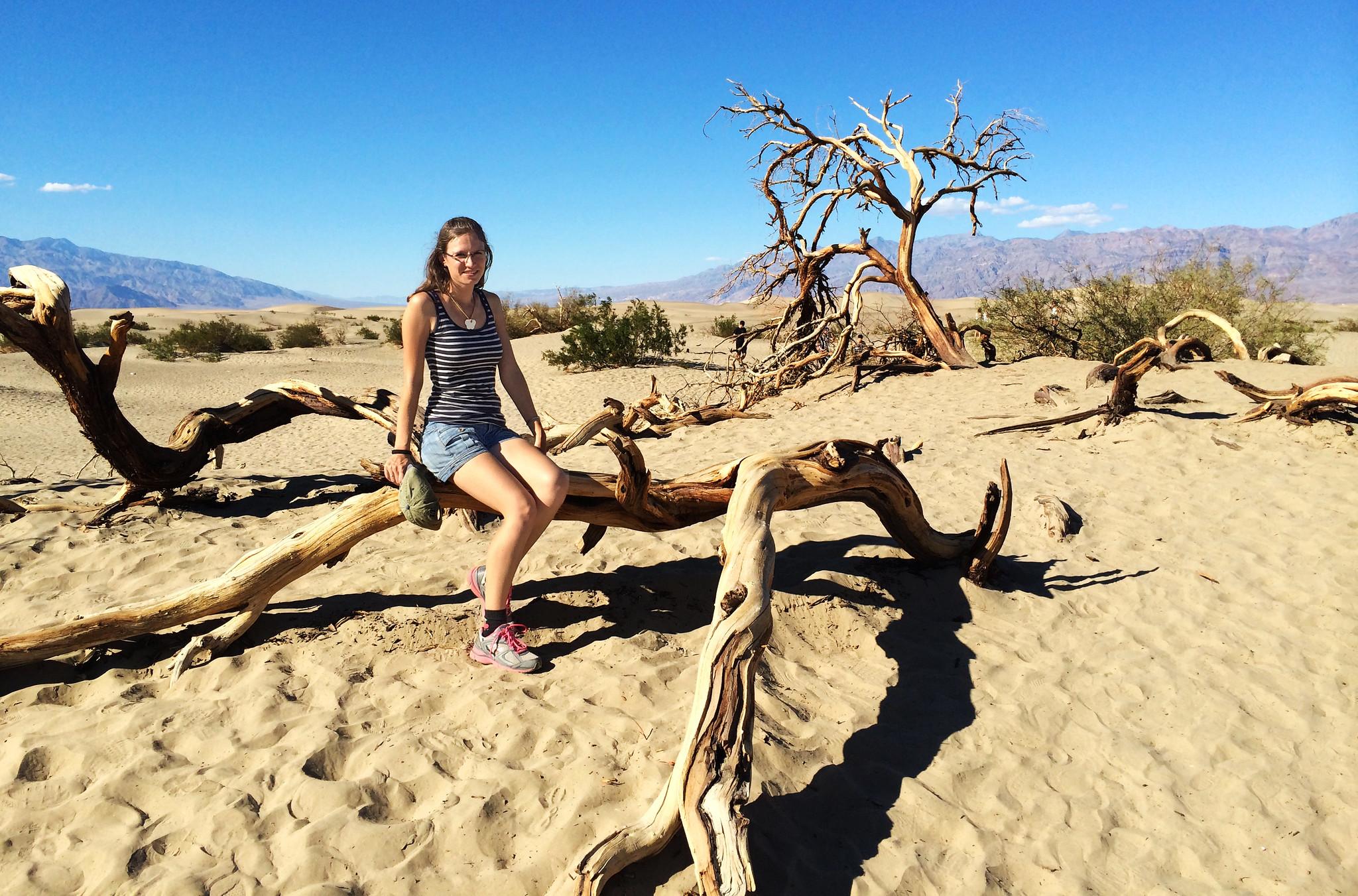Mesquite Flat Dunes, Death Valley National Park, CA, USA