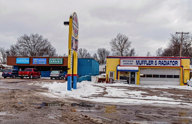 muffler or marijuana - a shopper's dilemma