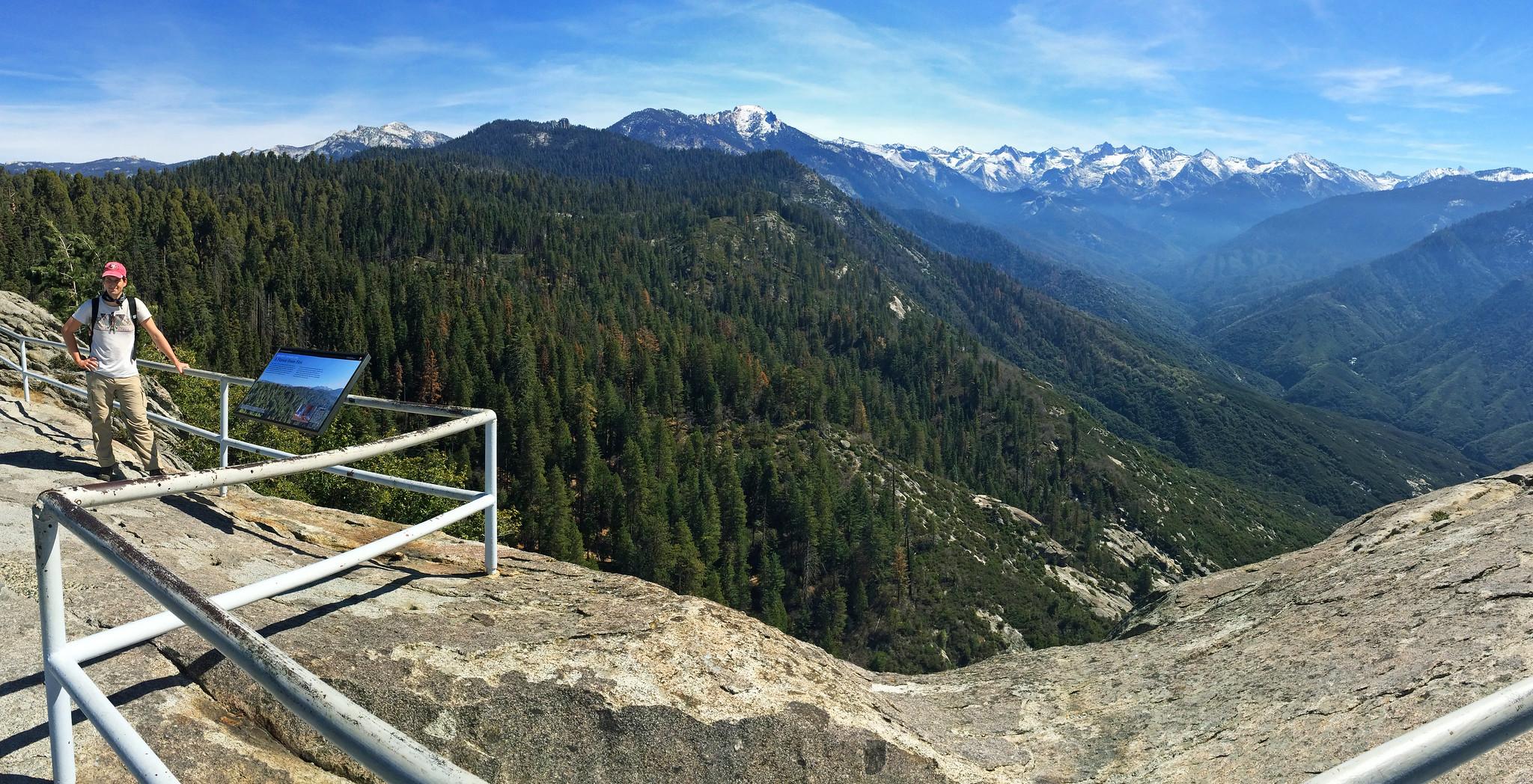 Moro Rock, Sequoia National Park, CA, USA