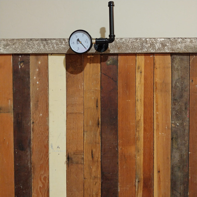 #steampunk #reclaimed #repurposed #upcycled #wood #wall