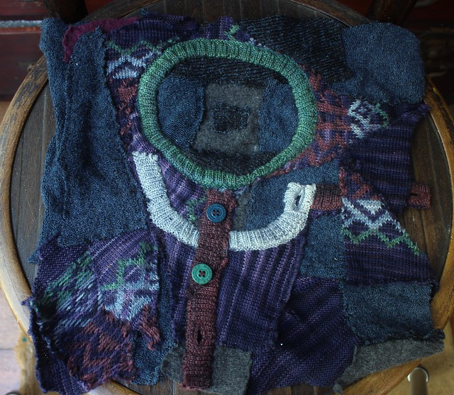knitting and sprouting