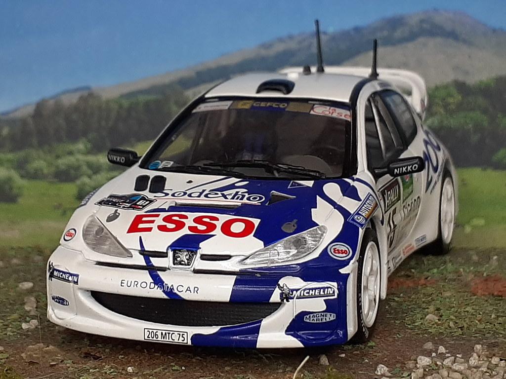 Peugeot 206 WRC - Tour de Corse - 1999