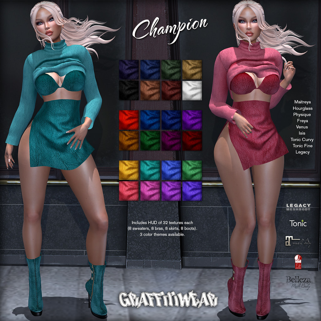 Champion Outfit Ad