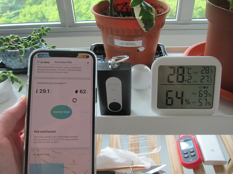 ORIA Digital Hygrometer Thermometer Display - Accuracy