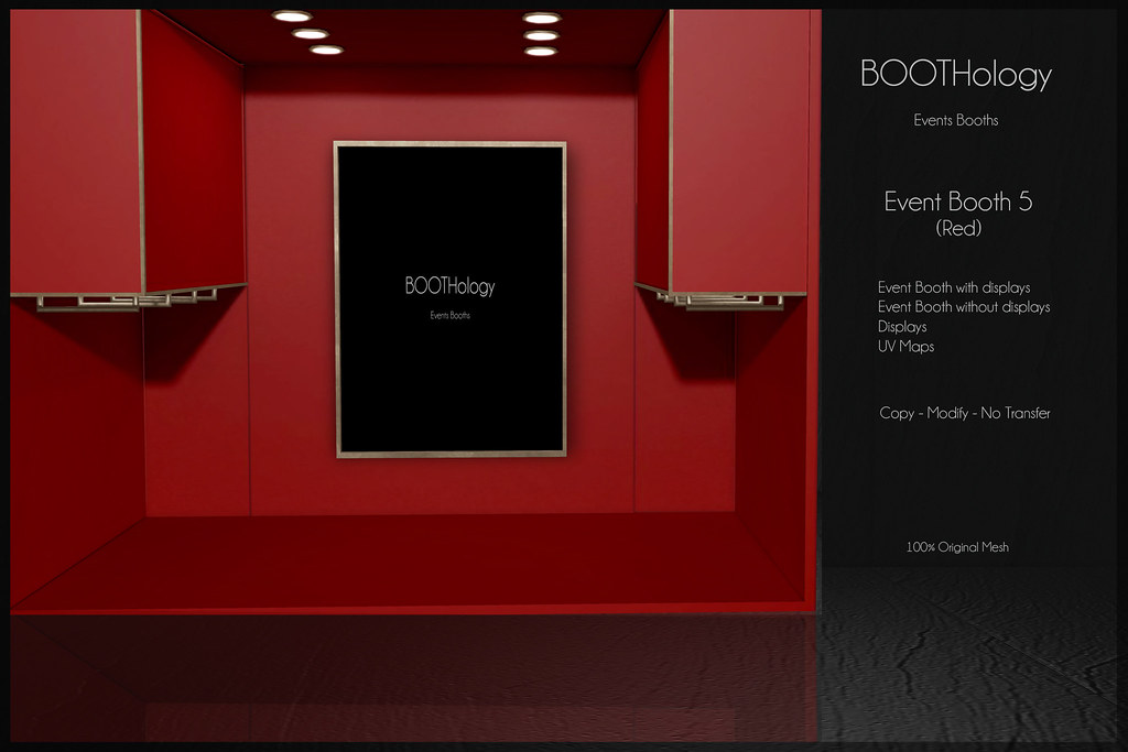 Bothology - Event Booth 5 Red AD