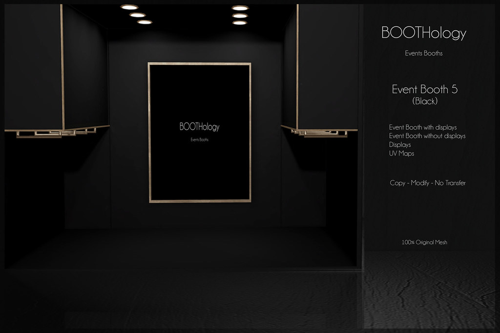 Bothology - Event Booth 5 Black AD