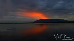 """Hot Dawn in Africa"", Landscape, Sunrise, reflexes, Hippo Lodge, Shire River, Liwonde, Malawi, Africa  ""Amanhecer quente em África"", Paisagem, Nascer do Sol, reflexos, Hippo Lodge, Rio Shire, Liwonde, Malawi, Africa"