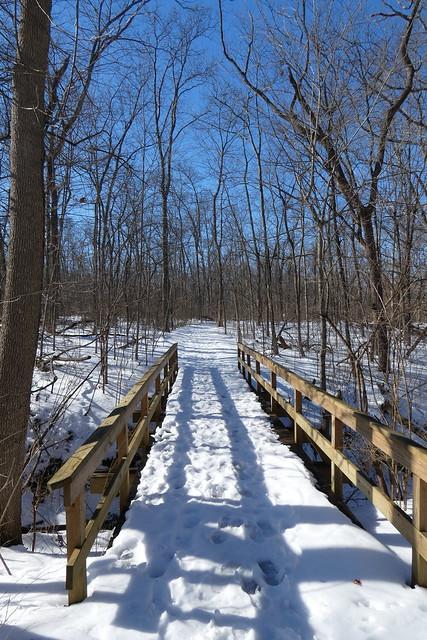 Battelle Darby Metro park Winter Hike