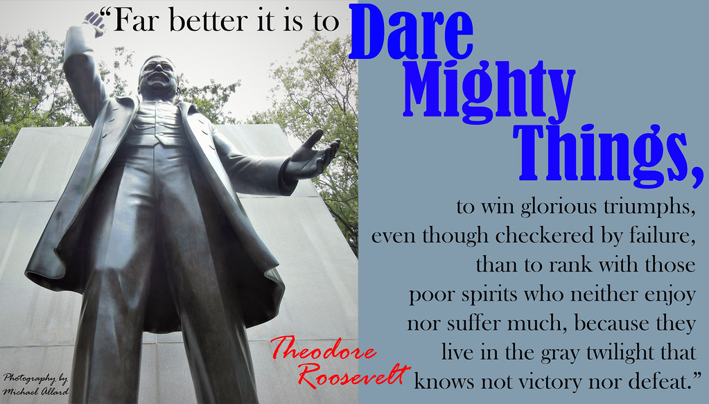 2017.07.22 Roosevelt Island Roosevelt Dare Mighty Things