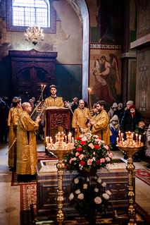 23.02.2021 | Литургия в Софийском соборе