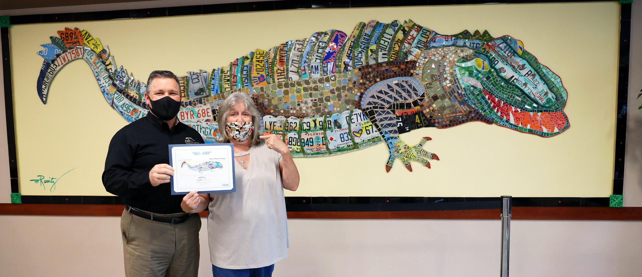 Alligator Art Naming Contest Winner