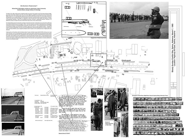 A presentation of Richard Burt's work on Bloody Sunday in Selma, Alabama.