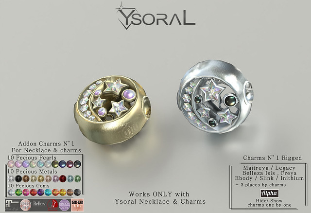 || YsoraL Giveaway  || .:Luxe Necklace & Charms:.✨💕