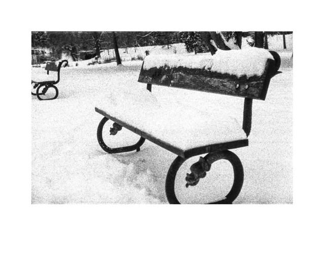 Bancos en Stromovka nevada