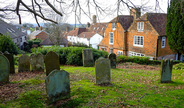 Rotherfield Churchyard Sussex