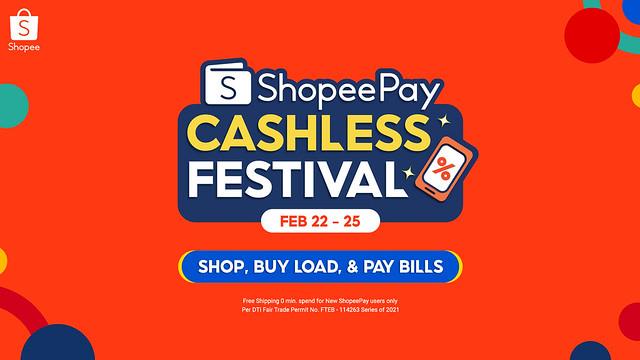 ShopeePay Cashless Festival KV