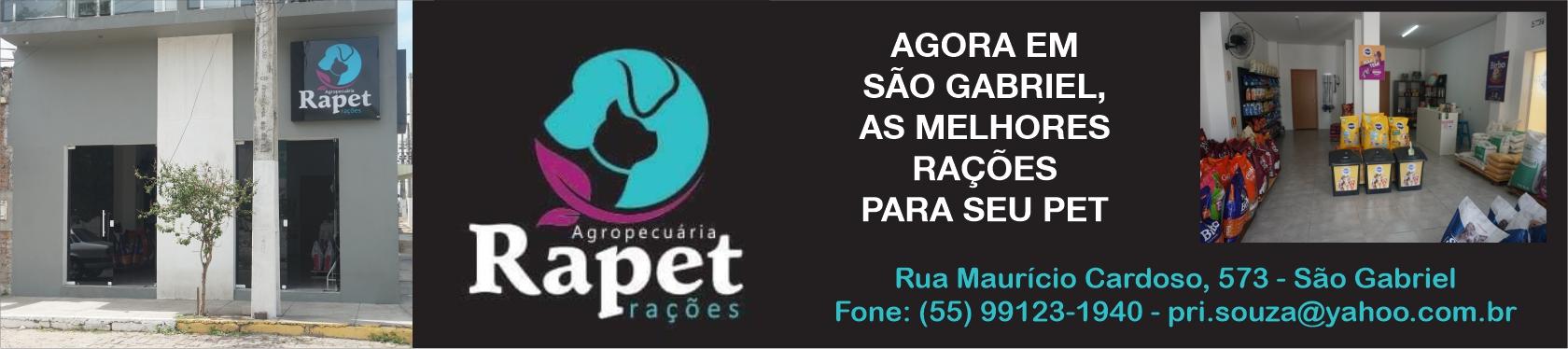 Agropecuária Rapet Rações - agora em São Gabriel