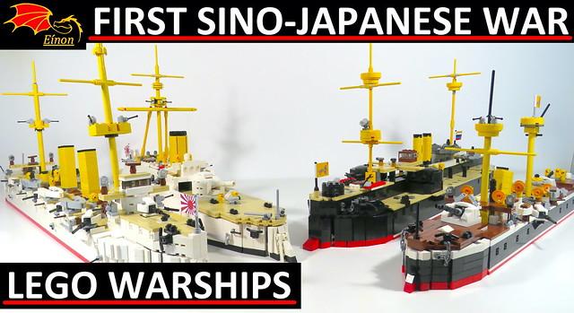 1º Sino Japanese War Warships