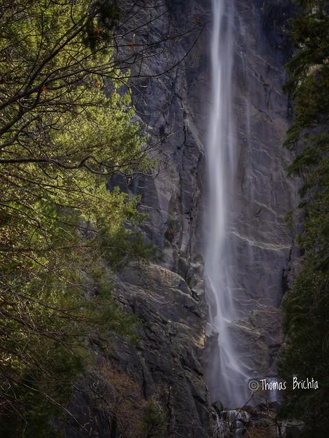 Bridvial Falls Yosemite.