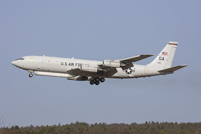 95-0121, Boeing E-8C JSTARS US Air Force @ Ramstein RMS ETAR