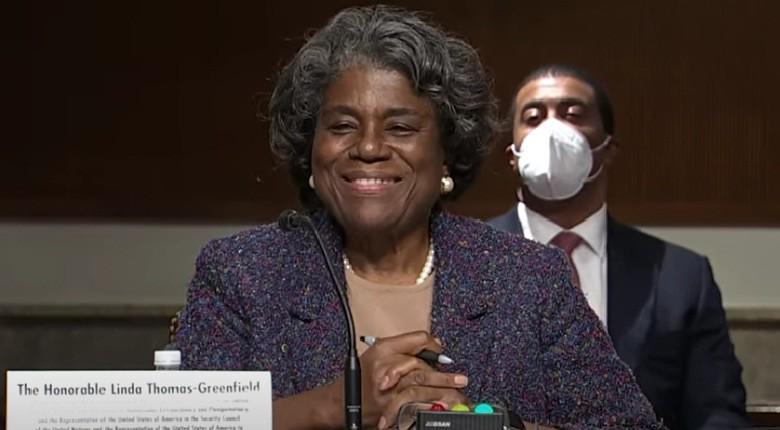 US Senate confirmed Linda Thomas-Greenfield as Ambassador to the United Nations