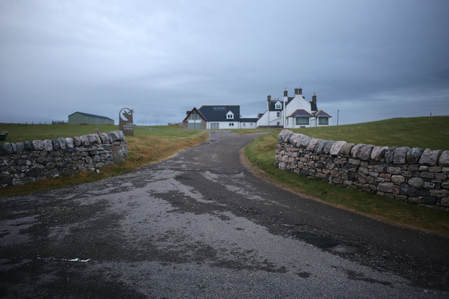 The former Cape Wrath Hotel, Keoldale