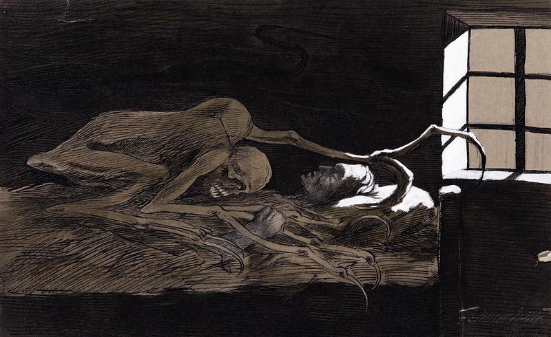 Fritz Schwimbeck - The Dream, 1909