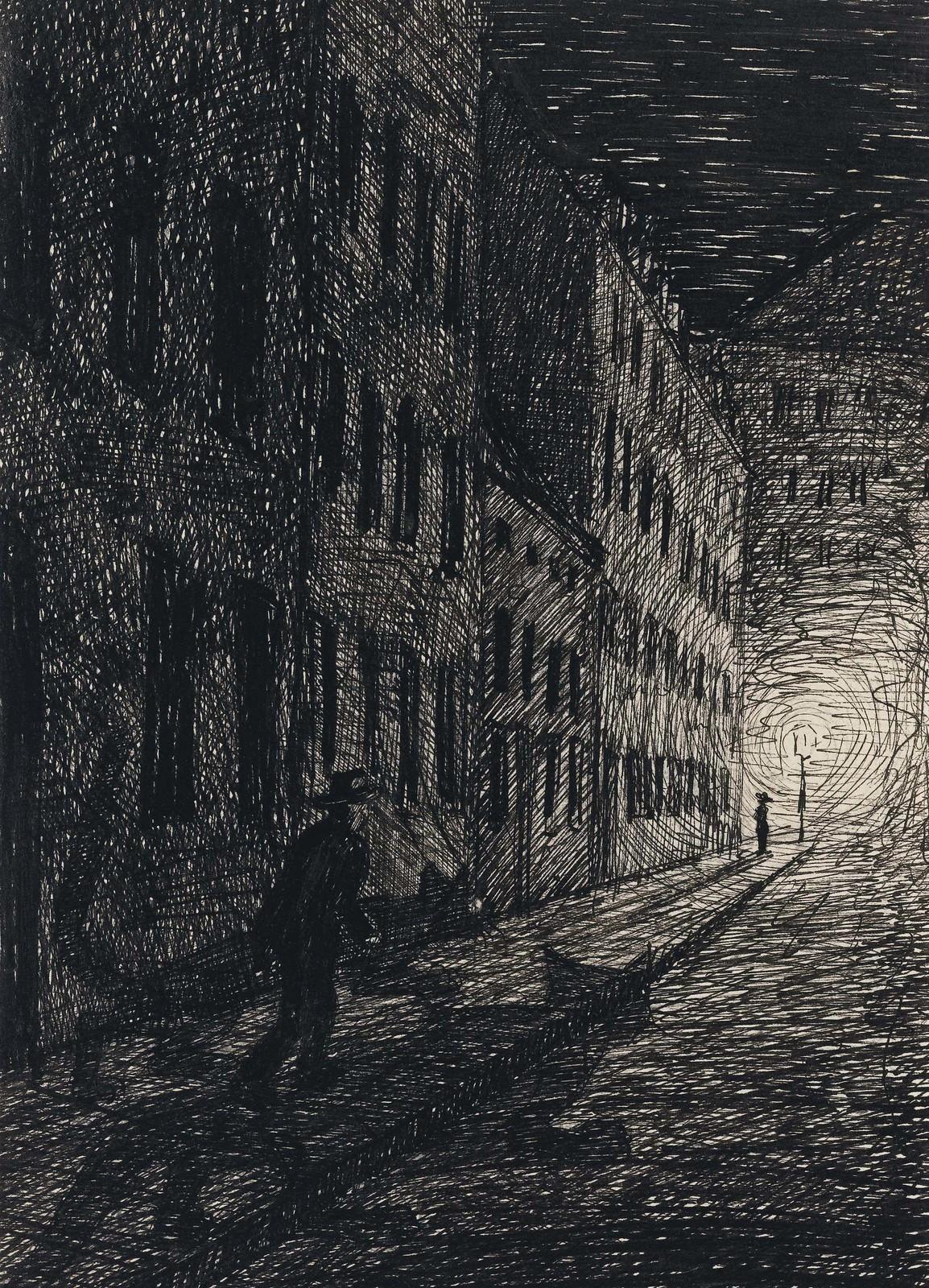 Fritz Schwimbeck - Drive, 1917