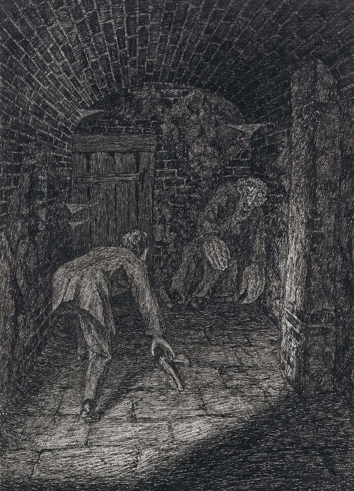 Fritz Schwimbeck - A Deam From G. Meyerink, 1917