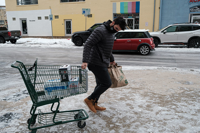 Winter Storm Basic Needs Shopping
