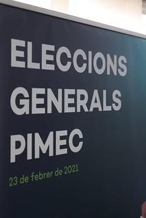 Eleccions Generals de PIMEC 2021